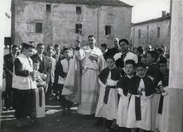 BENEDICCIO DEL DIPOSIT AIGUA mes o menys 1957